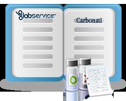 Nelle Analisi delle acque viene analizzata anche la presenza di carbonati.